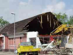 Das Volkshaus  – Bilder vom Abriss