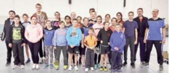 Weihnachten bei der Badmintonabteilung des TV Mörsch
