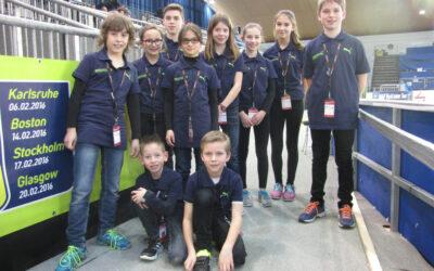Körbchenkinder beim IAAF-Meeting