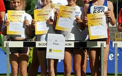 Badische Mannschaftsmeisterschaften: Platz 4 für unser Team