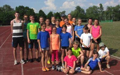 Leichtathletik Trainingslager 2014