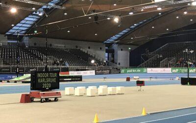 Körbchenkinder beim Internationalen Leichtathletik-Meeting
