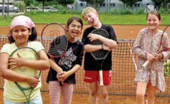 Kooperation Albert-Schweitzer-Grundschule und TV Mörsch Abteilung Tennis