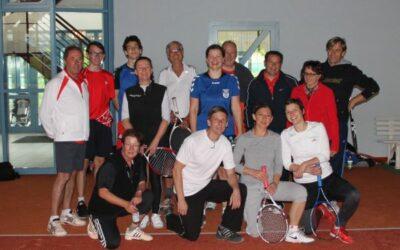 Together, Tennis bei Wind und Wetter
