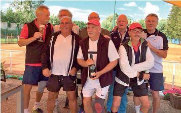 Aufstieg Herren 65/1 in die Badenliga