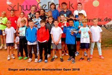 Tennisturnier der Rheinstettener Jugend – Rheinstetten Open 2018