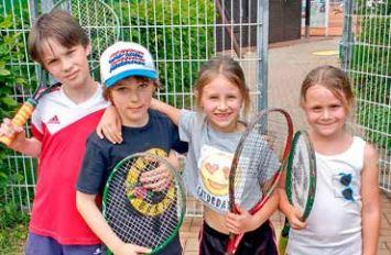 Kooperation Tennis mit der Albert-Schweitzer-Schule