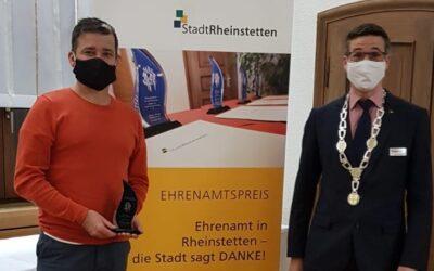 Ehrenamtspreis für Andi Gerstner
