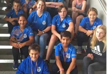 Badminton Jugendregionalrangliste 2019